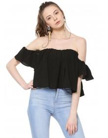 Bardot Top By NOBLE FAITH