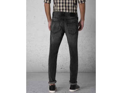 Black High Distressed Jeans-ABCD(Similar Style)