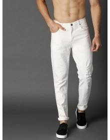 White High Distressed Jeans-ABCD(Similar Style)