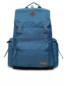 Blue Solid Backpack-ABCD(Similar Style)
