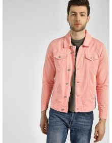 Coarl Pink Denim Jacket-ABCD(Similar Style)