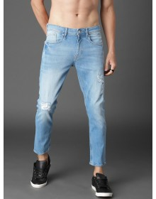 Light Blue Ripped Jeans-ABCD(Similar Style)