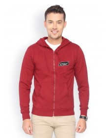 Red Solid Pullover-ABCD(Similar Style)