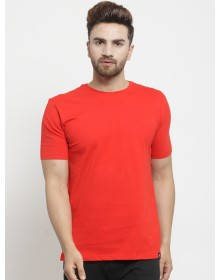 Rose Red Basic T-Shirt-ABCD(Similar Style)