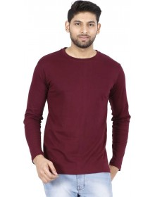 Burgundy Full sleeve T-Shirt-ABCD(Similar Style)