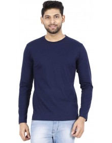 Navy Blue Full sleeve T-Shirt-ABCD(Similar Style)