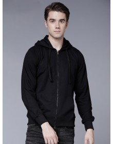 Mid-Night Black Hooded Pullover-ABCD(Similar Style)