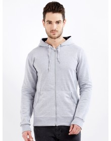 Grey Hooded Pullover-ABCD(Similar Style)