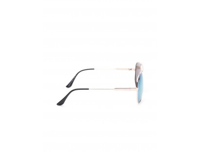 Blue Mirrored Aviator Sunglasses-ABCD(Similar Style)