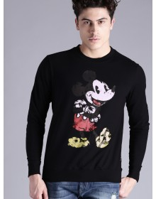 Mickey Mouse printed Black Sweatshirt-ABCD(Similar Style)