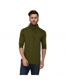 Green Cowl Neck T-Shirt-ABCD(Similar Style)