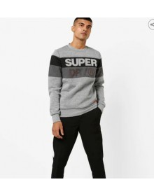 Black Colour blocked Superdry Sweatshirt-ABCD(Similar Style)