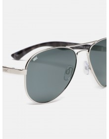 Charcoal Aviator Sunglasses-ABCD(Similar Style)