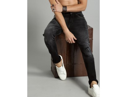 Black Ripped Jeans-ABCD