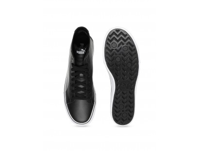 Black Mid Top Shoe-ABCD