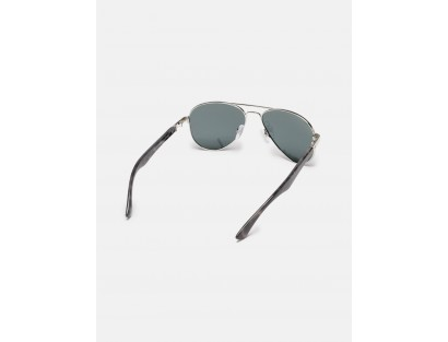 Black Aviator Sunglasses-ABCD
