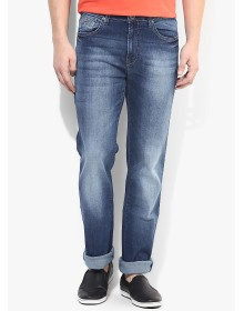 Blue Rise Regular Fit Jeans by Pepe Jeans