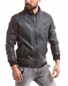 Men's Cotton Black Jacket by Shuffle