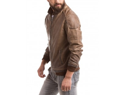 Men's Cotton Jacket by  Shuffle
