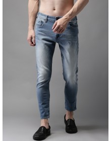 Blue Shaded Cropped Jeans-AS(Similar Style)
