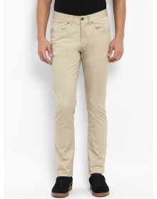 Beige Slim Fit Trousers -AS(Similar Style)