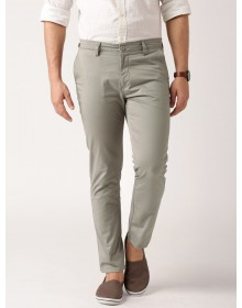 Grey Casual Slim Fit Trousers -AS(Similar Style)