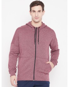 Maroon Hooded Sweatshirt-AS(Similar Style)