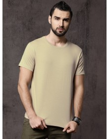 Beige Casual T-Shirt-AS(Similar Style)