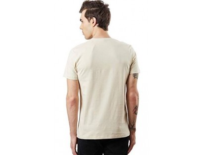 Cream Casual T-Shirt(Similar Style)-AS