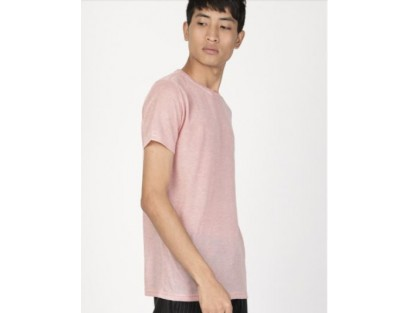 Casual Pink Tee-AS