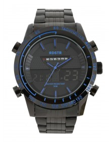 Black Analogue And Digital watch-AS(Similar Style)