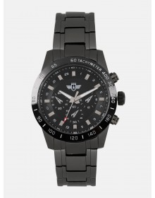 Dark Black Analogue watch-AS(Similar Style)