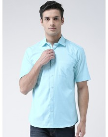 Sea Green Standard Regular Fit Solid Casual Shirt-AS(Similar Style)