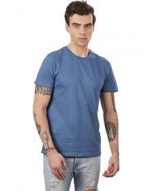Blue Casual T-Shirt(Similar Style)-AS