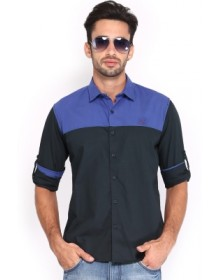 HRX Men's Solid Shirt