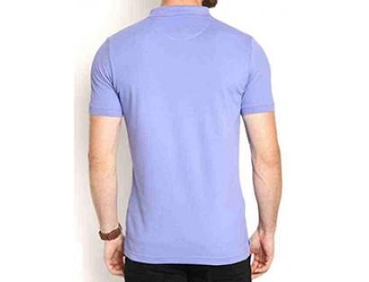 Blue Skinny Fit Polo T-shirt