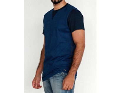Solid Blue T Shirt