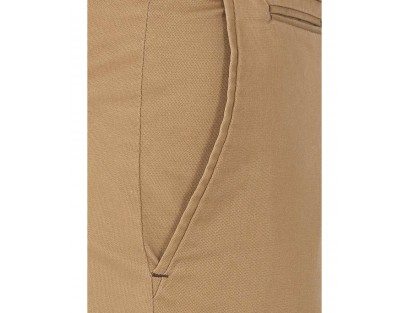 Brown Blended Cotton Chinos
