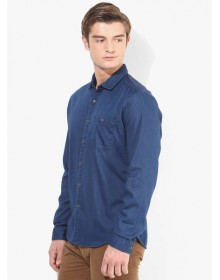 Bossini Blue Denim Shirt