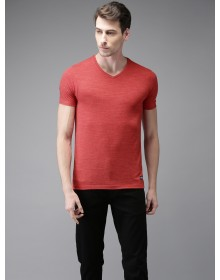 Imperial Red Solid T-Shirt-DC(Similar Style)