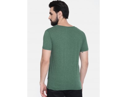 Jade Green Solid T-Shirt-DC(Similar Style)