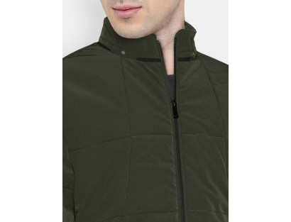 Hunter Green Solid Jacket-DC(Similar Style)