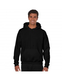 Black Solid Hooded SweatShirt-CMR (similar style)