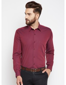 Maroon Slim fit Solid Shirt-CHLR(similar style)
