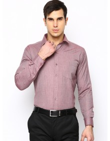 Pink Slim Fit Solid Shirt-CHLR(similar style)