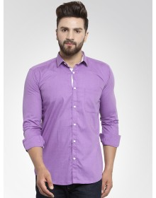 Purple  Solid Shirt-CHLR(similar style)
