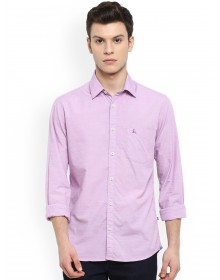 Lavender Slim Fit Solid Shirt-CHLR(Similar style)