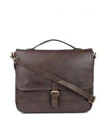 Brown Jade Leather Laptop Bag-CHLR(similar style)