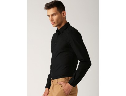 Black Slim Fit-Shirt-GG(similar style)