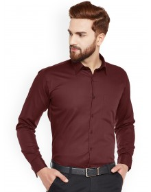 Formal Maroon Turquoise Shirt-GG(similar style)